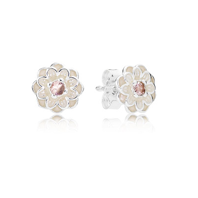 Blooming Dahlia Stud Earrings