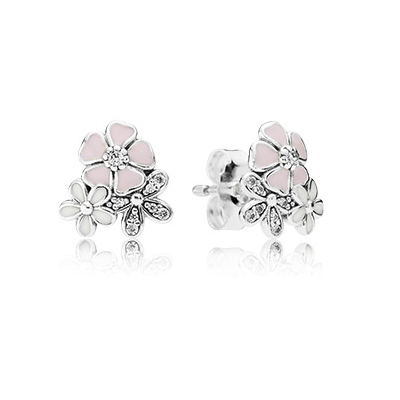 Poetic Blooms Stud Earrings