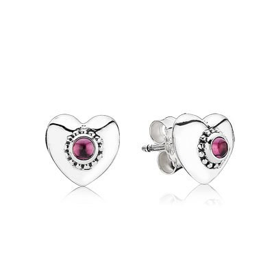 Pandora Earrings Heart Stud Earrings