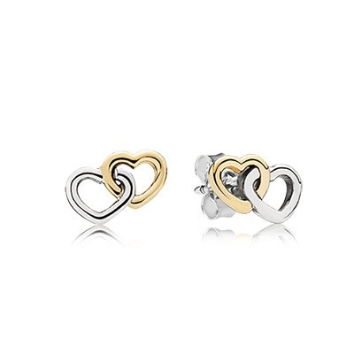 PANDORA Heart to Heart Earrings