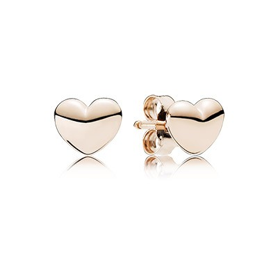PANDORA Rose Petite Hearts Stud Earrings