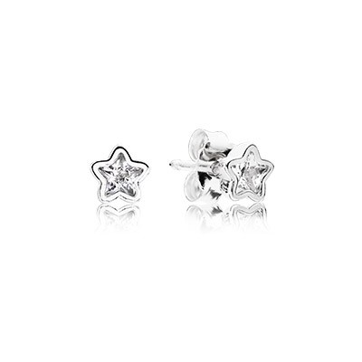 PANDORA Starshine With Clear CZ Earrings