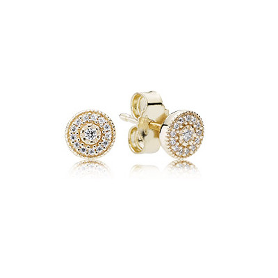 Radiant Elegance Stud Earrings