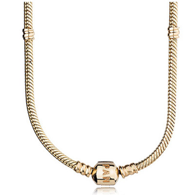 Gold collier, P-lock