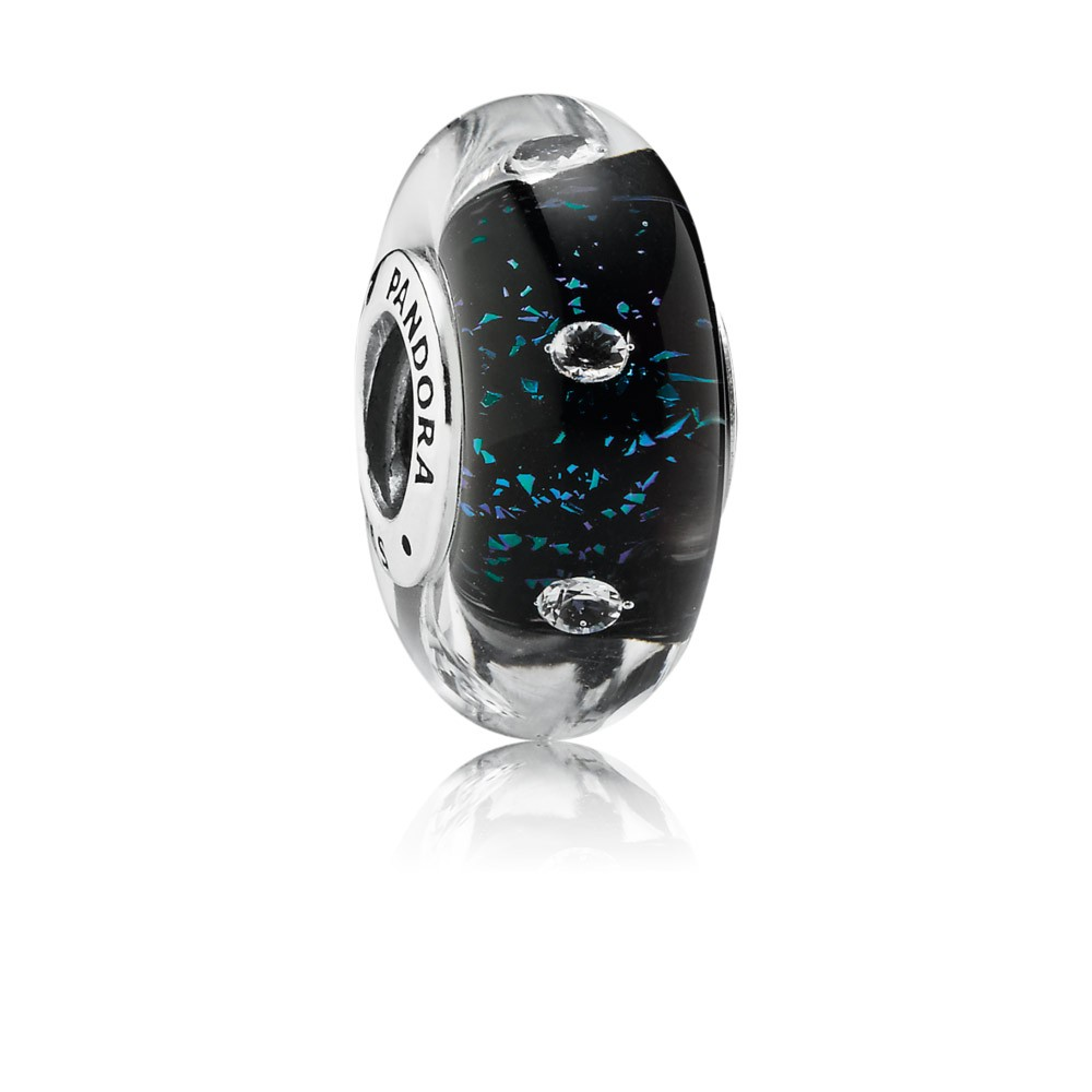 Pandora Midnight Effervescence, Clear Cz