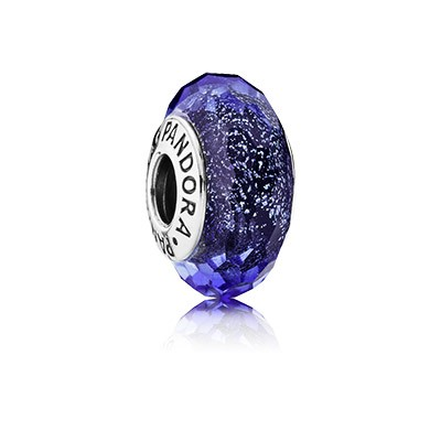 PANDORA Blue Fascinating Iridescence Charm