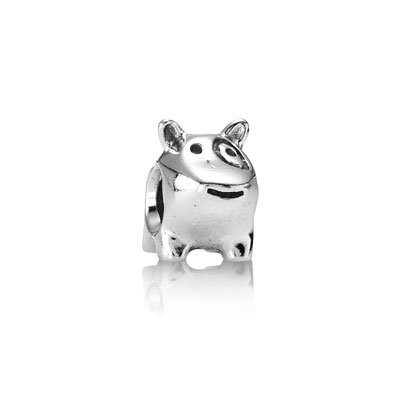 Pandora Cute Cartoon Animal Thread Charm Silver