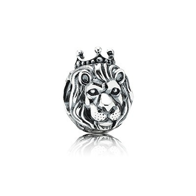 PANDORA King of the Jungle Charm