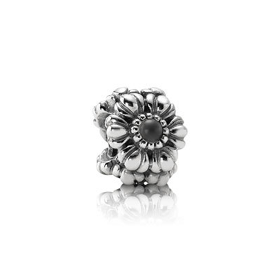 Pandora Birthday Bloom June with Grey Moonstone Charm
