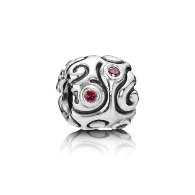 PANDORA Ruby Day Dream Charm