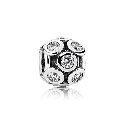 PANDORA Whimsical Lights with Clear CZ Openwork Charm