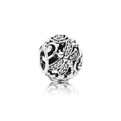 PANDORA Dragonfly Meadow with Clear CZ Openwork Charm