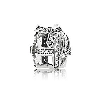 PANDORA All Wrapped Up With Clear CZ Charm