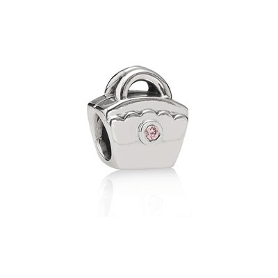 PANDORA Scalloped Purse PCZ Charm
