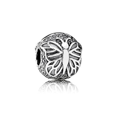 PANDORA Lacewing Butterfly Clip