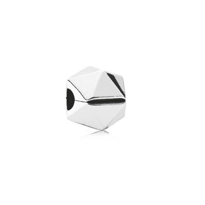 Pandora Clip Charm White Diamond