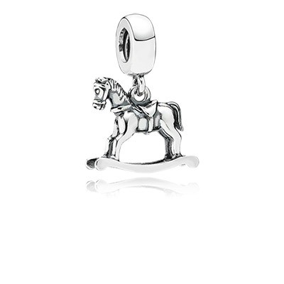 PANDORA Rocking Horse Dangle