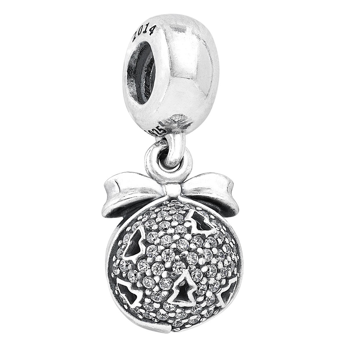 PANDORA Christmas Wish Dangle Black Friday Charm