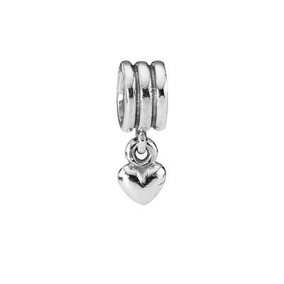 Pandora Silver Heart Pendants Charms