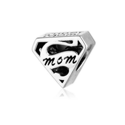 Pandora Superman Mom Charms