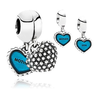 Pandora Piece Of My Heart Charms
