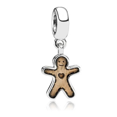 Pandora Gingerbread Man Charms