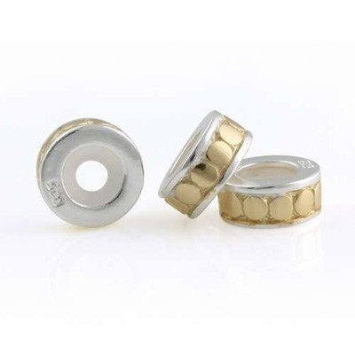 Pandora 14K Gold and 925 Silver Bearing Beads Safety Mat