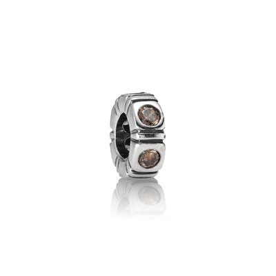 PANDORA Brown Spacer Trinity