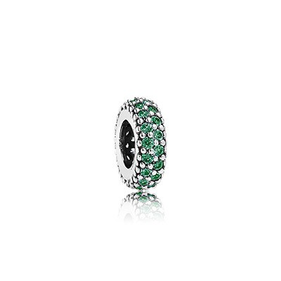 PANDORA Inspiration Within with ark Green CZ Spacer