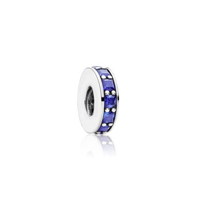 PANDORA Eternity with Royal Blue Crystal Spacer