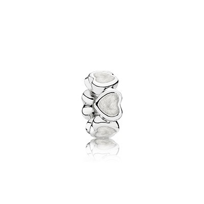 PANDORA Abundance Of Love With Silver Enamel Spacer