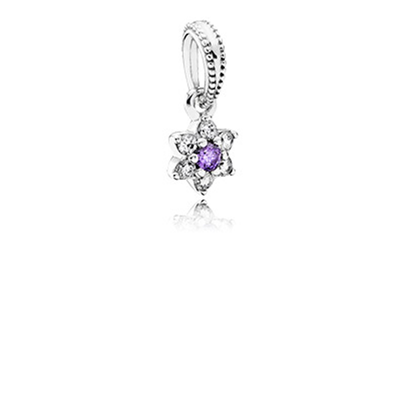 Forget Me Not Pendant Charm