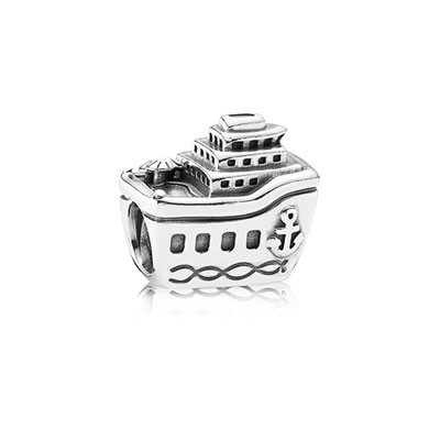 Pandora Steamship Bead Thread Charm