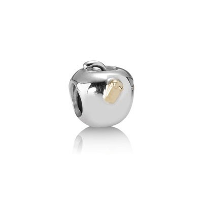 Pandora Apple With Worm Charms