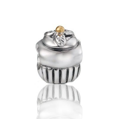 Pandora Confused Bead Charms Two-Tone