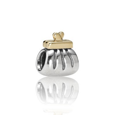 Pandora Ms. Handbag Bead Charms Two-Tone