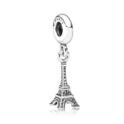 Pandora Eiffel tower Bead Thread Charm