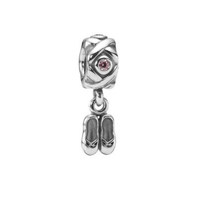 Pandora Ladies Shoes Bead Thread Charm