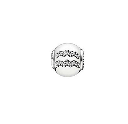 Pandora Zodiac Charms Aquarius Sterling Silver