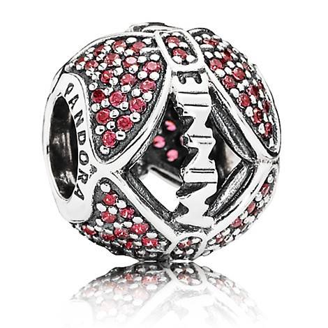 PANDORA Disney Minnie Mouse ''Minnie's Sparkling Bow'' Charm