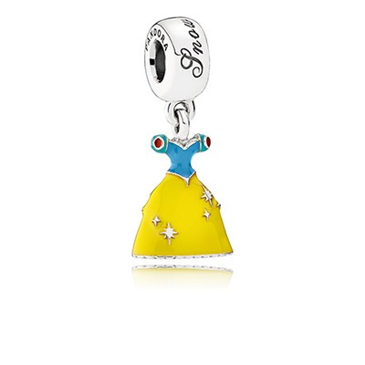 PANDORA Disney's Snow White's Dress with Enamel Dangle