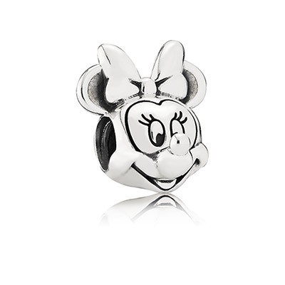 Silver Disney Minnie Charm