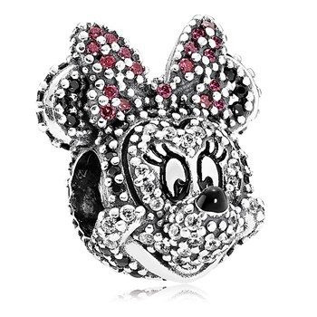 PANDORA Limited Edition Sparkling Minnie Portrait Charm
