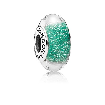 New Disney Pandora Parks Exclusive Ariel\'s Signature Color Bead Charm