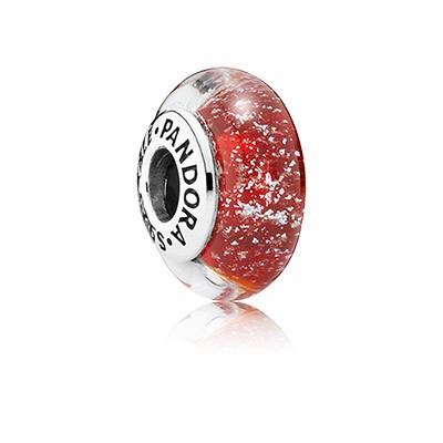 PANDORA Disney Murano Snow White's Signature Color