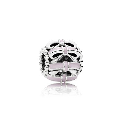 PANDORA Sweet Sentiments With Pink Enamel Charm