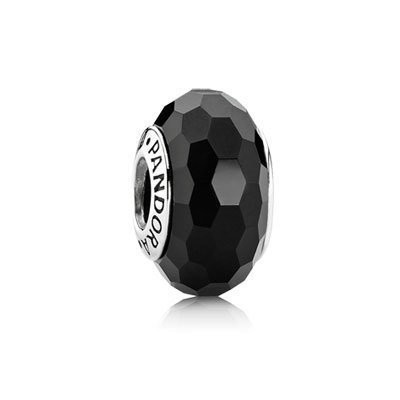 Pandora Murano Glass Black Fascinating Bead