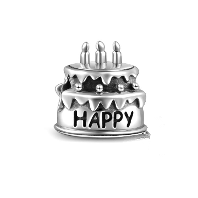 Pandora Birthday Cake Charms