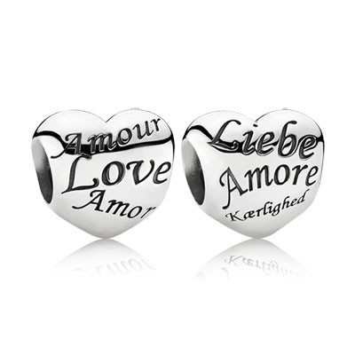Pandora Language Of Love Charms