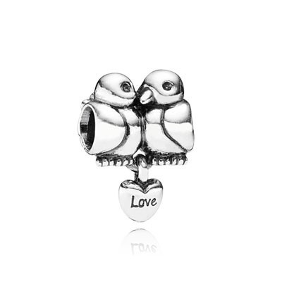 Pandora Love Birds Charms